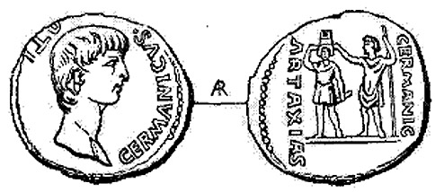 Reconstruction-of-the-coin-of-Germanicus-crowning-Artaxias