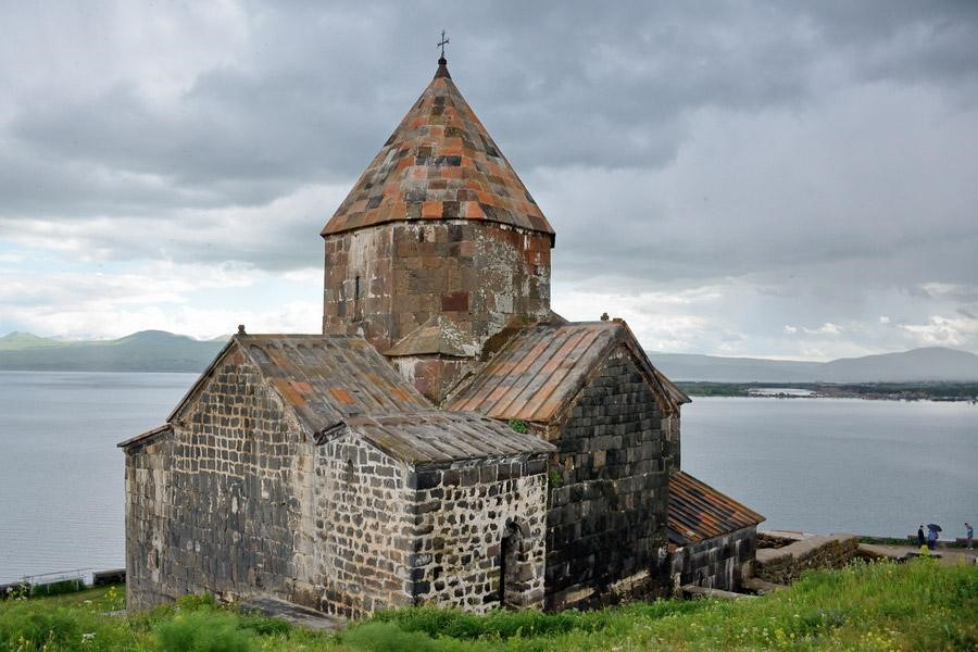 Sevanavank monastery,  founded in 874 AD by Princess Mariam, the daughter of Ashot I