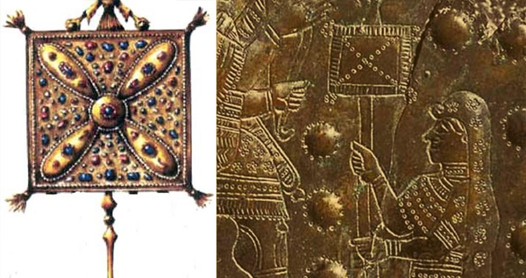 Did the Sassanids adopt an Armenian banner?