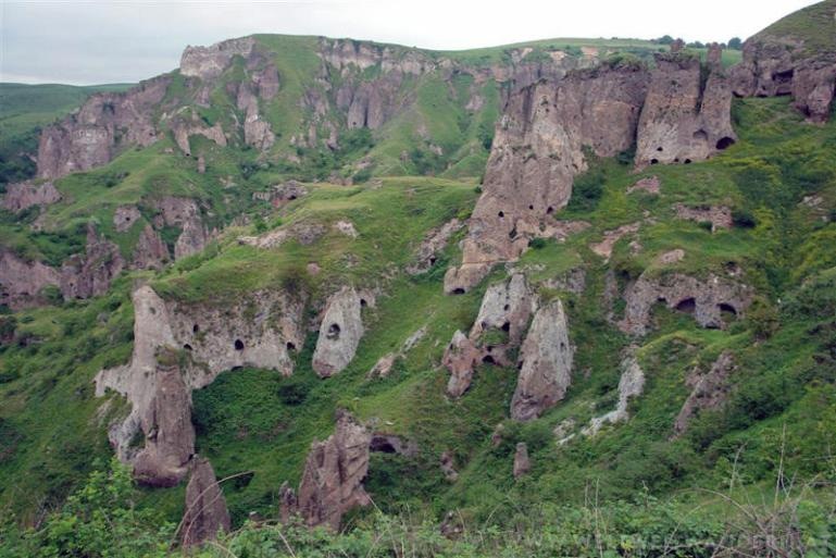 Ancient cave-dwellings of Khndzoresk