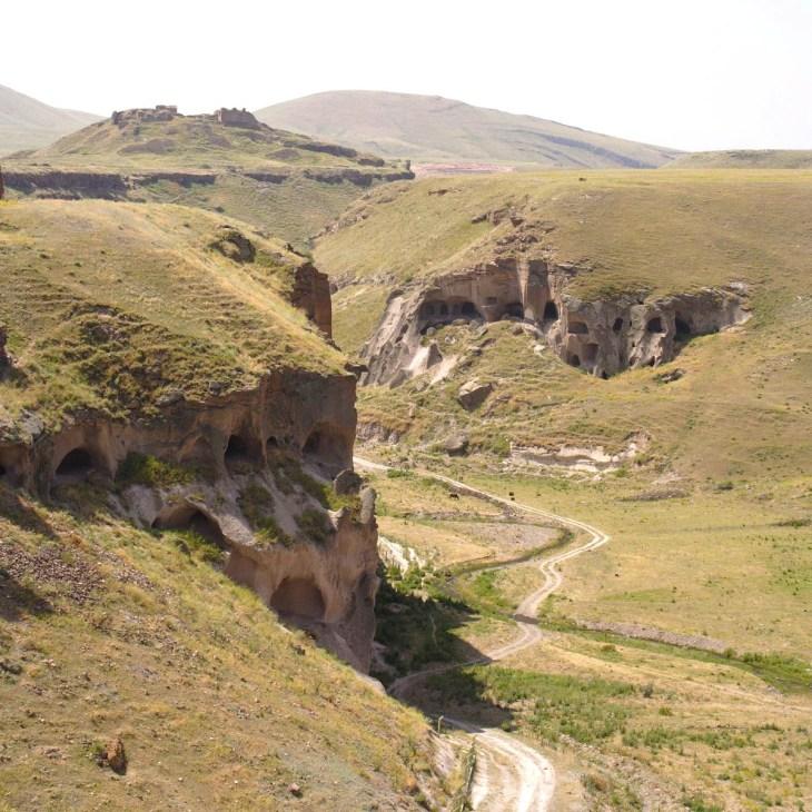 Ancient Ani cave complex