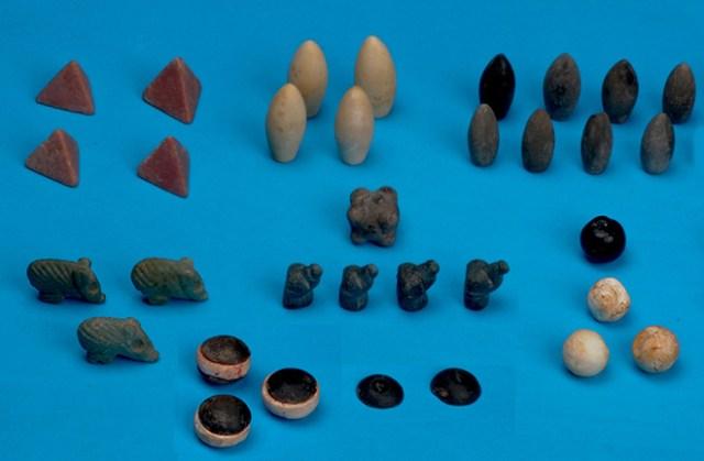 Ancient gaming-stones