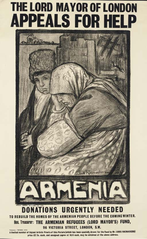 The Lord Mayor of London Appeals For Help For Armenia, c.1915-16