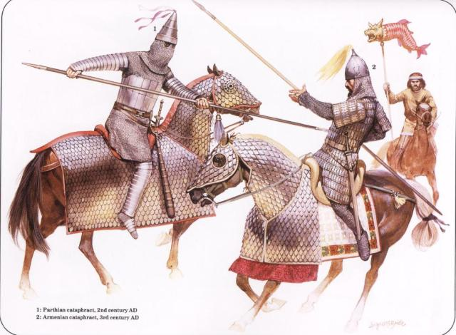 Armenian and Parthian Cataphracts