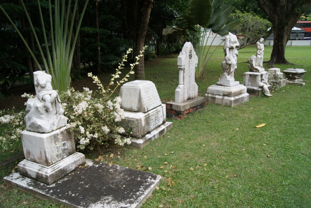 Armenian church, Singapore, memorial