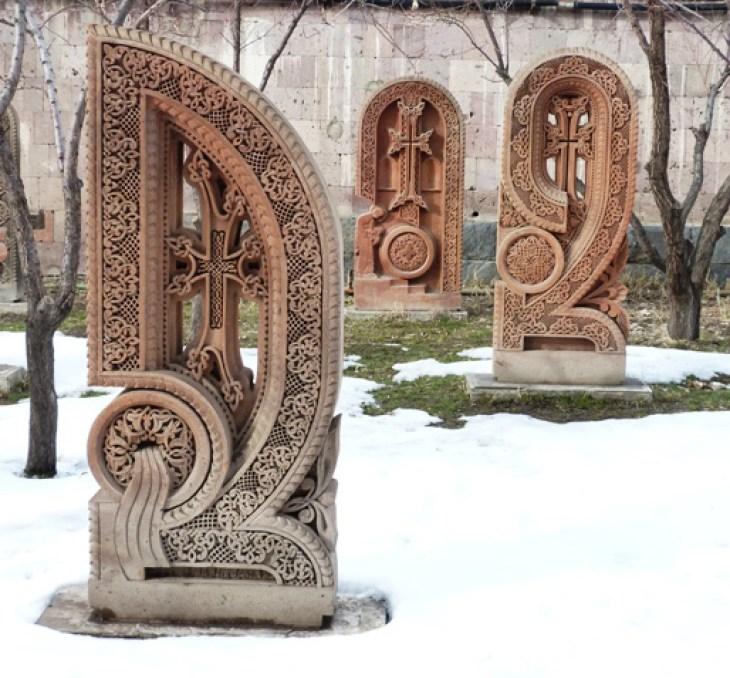 Armenian cross-stone