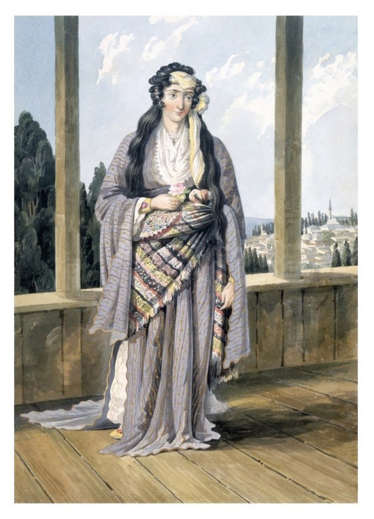 Armenian lady at Constantinople, William Page 1823