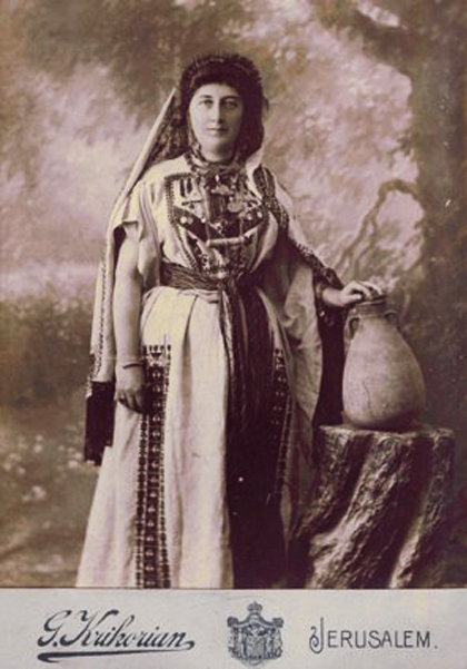 Armenian lady from Jerusalem,1890