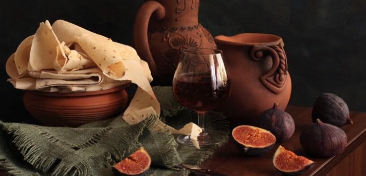 Armenian flatbread Lavash