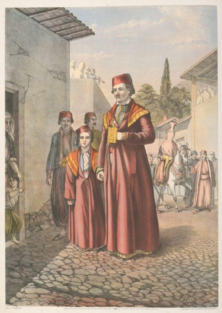 Armenian Marriage Procession by Van-Lennep, Henry J. (Henry John), 1815-1889
