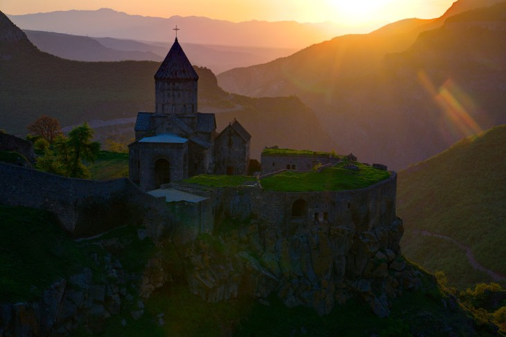 Monastery of Tatev, 8th century.