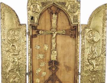 Armenian Reliquary 1293 AD, Cilicia. - Hermitage Museum, Russia