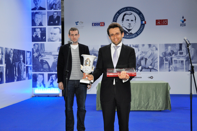 Levon Aronian wins Alekhine Memorial tournament 2013