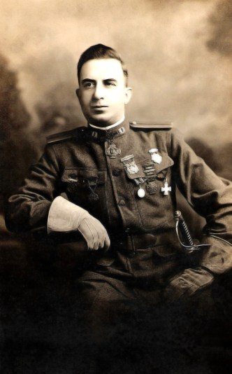 Captain Jim Chankalian, Armenian hero of the Armenian liberation movement.