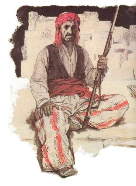 Defender of Sasoun (West Armenian man)