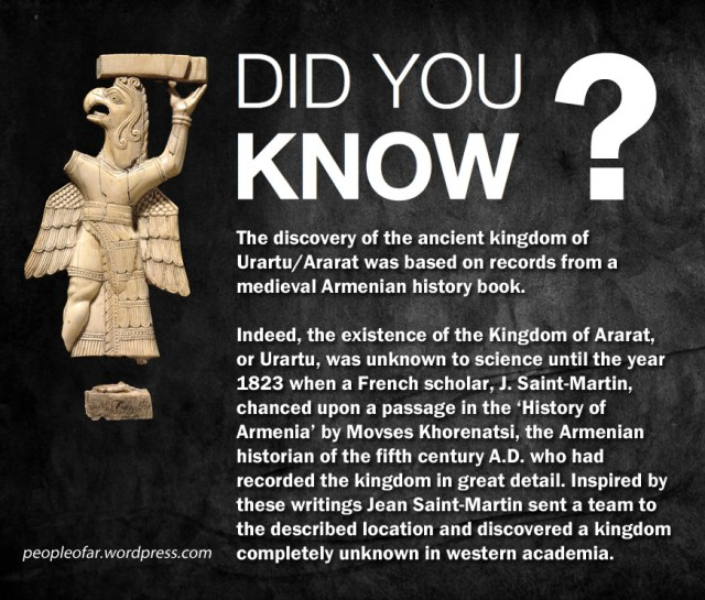 Didi you know how Urartu was descovered2