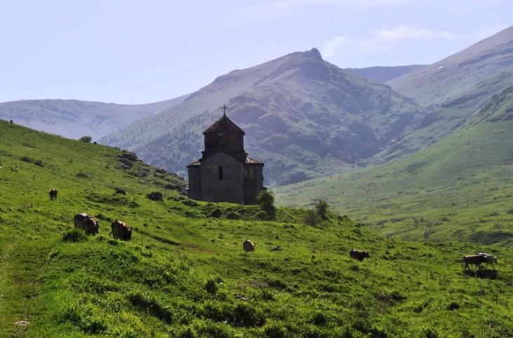 Dorbandavank, St. Astvatsatsin church (VI c.) Stepanavan Armenia
