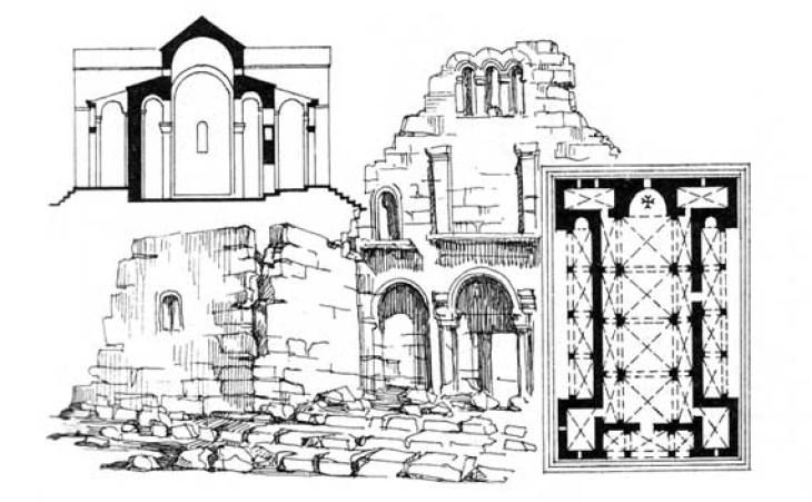 Ereruyk basilica blueprint