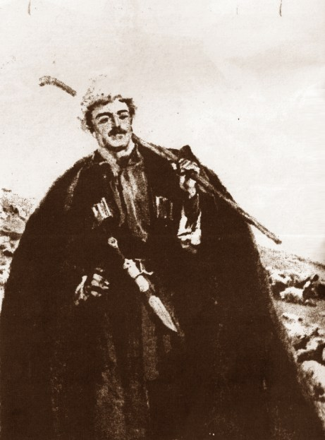 G. Khanjan Illustration for the poem of Ovanes Tumanyan - Anush