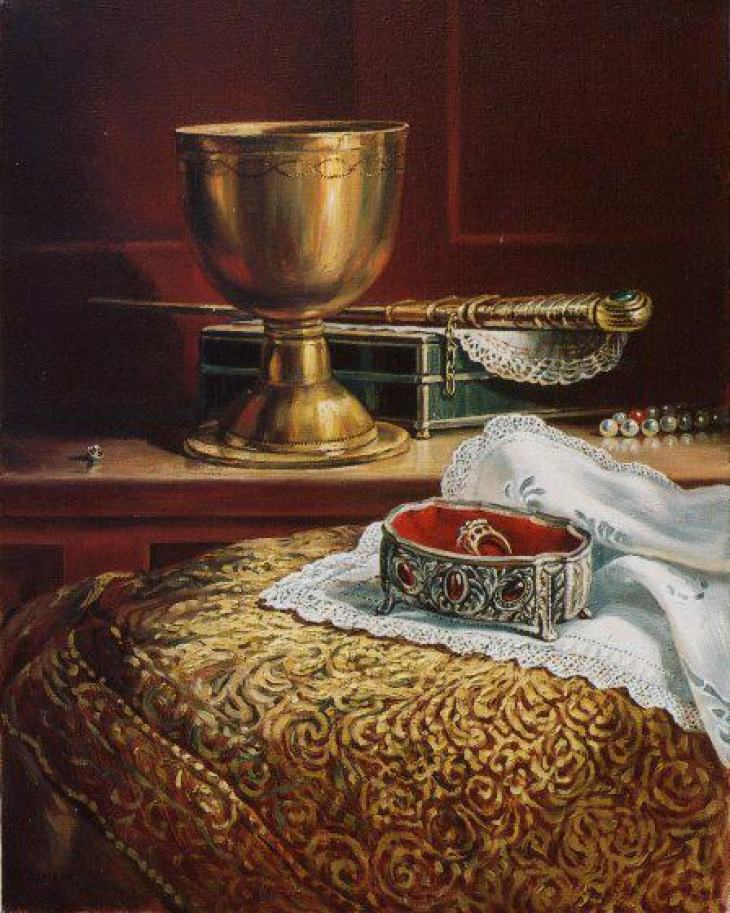 Golden Chalice 2005 by Rubik Kocharian