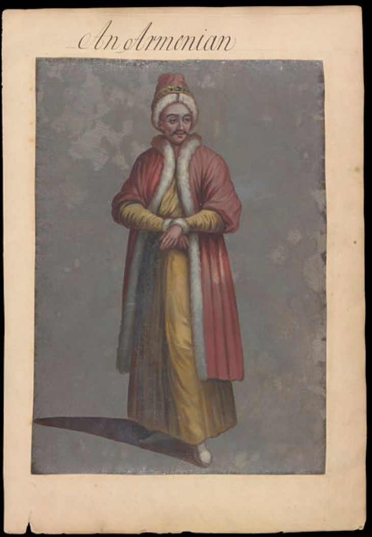 Kean, Edmund 18th c. Armenian man