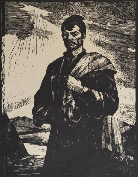 Khach'ikyan Vahram Ghevond Pepo (Gabriel Sundukyan Pepo work embroidery) (1962)
