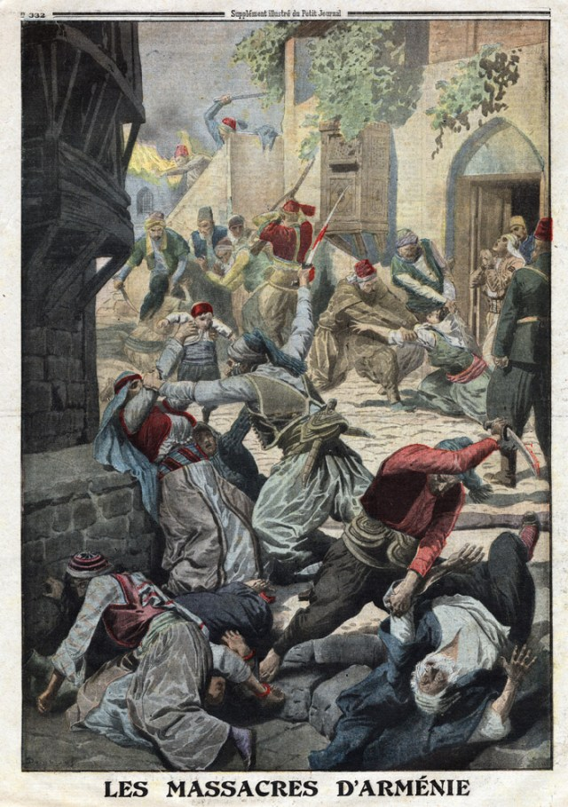 "Massacre of Armenians, from French newspaper ""Le Petit Journal"" (12 December 1916)"