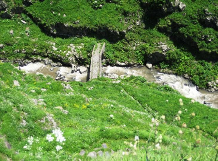 Lori Berd medieval bridge Stepanavan Armenia