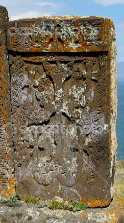Medieval-cross-stone in armenia