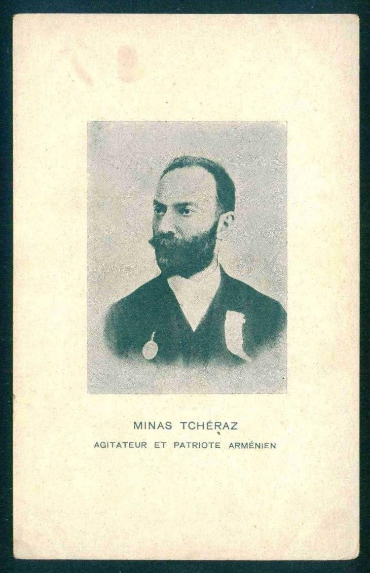 Minas Tcheraz, Armenian patriot