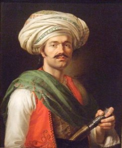 Portrait of Roustam Raza, the mamluck of Napoleon, 1810
