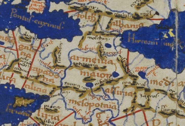 ZOOMED: Greater Armenia according to Ptolemy