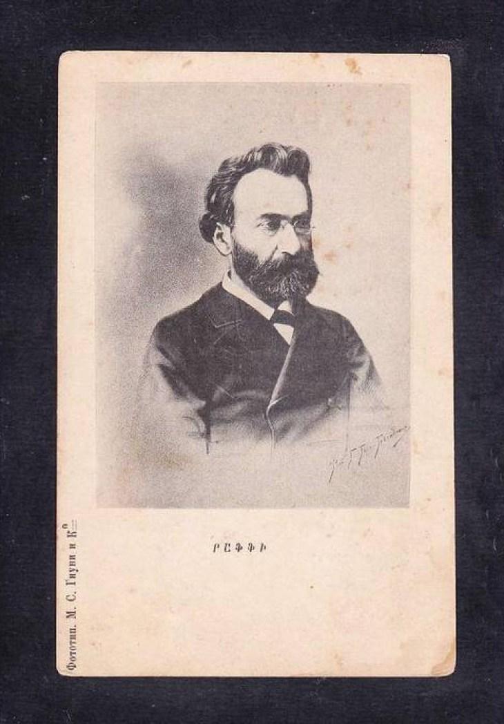 Raffi renown Armenian poet