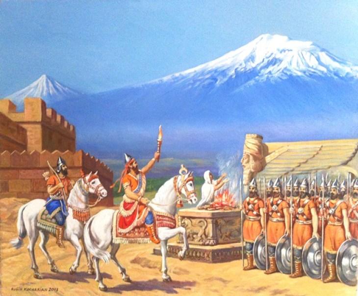 Sardur King of Ararat by Rubik Kocharian