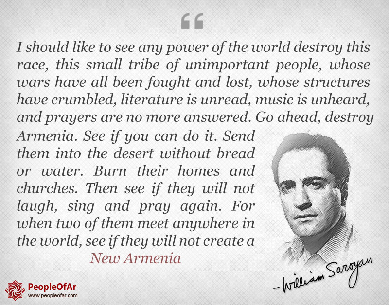 saroyan-quote-Armenian