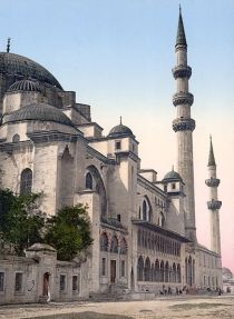 Süleymaniye Mosque, 1890