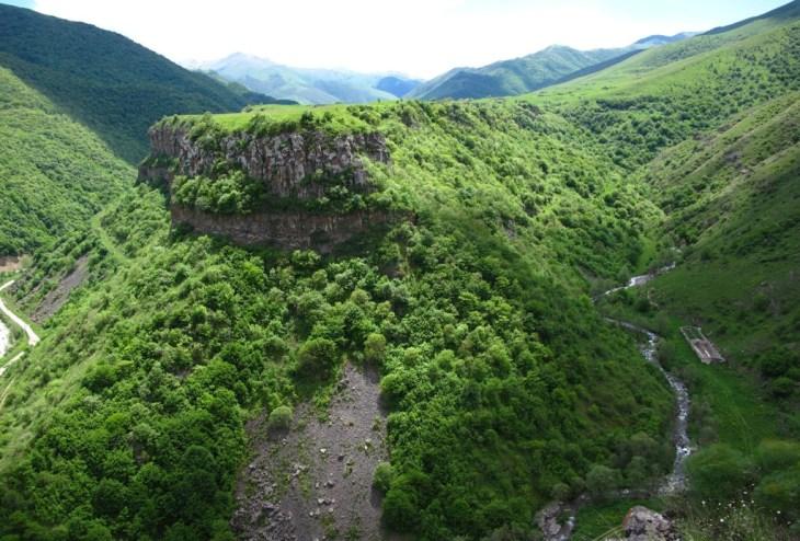 Stepanavan district canion