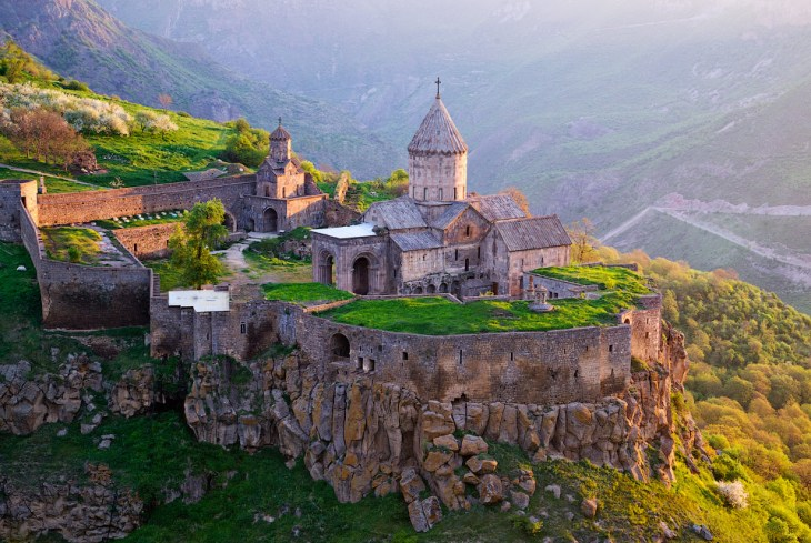 Monastery of Tatev, 8th century.