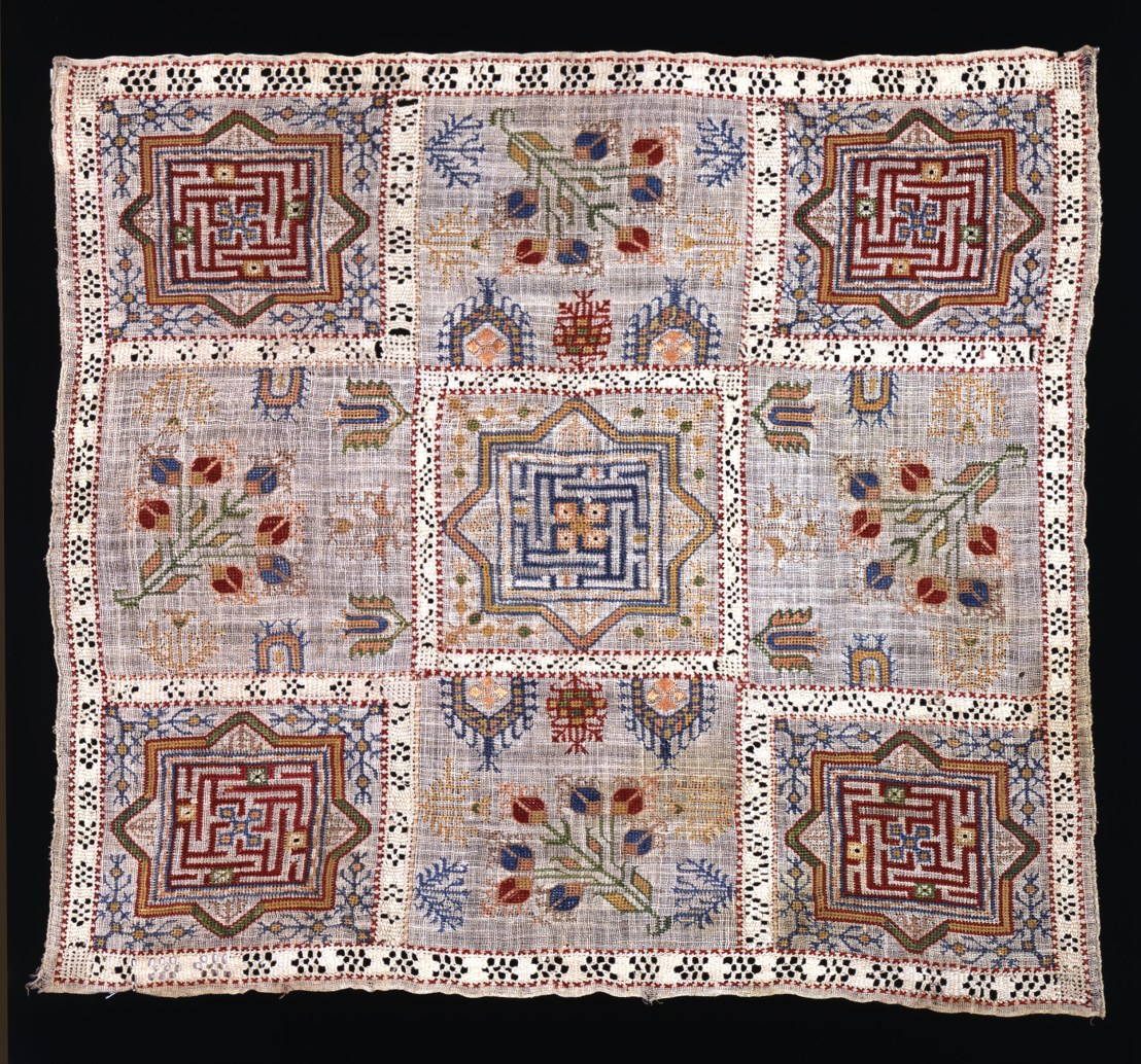 Armenian embroidery , 19th century. - The Russian Museum of Ethnography