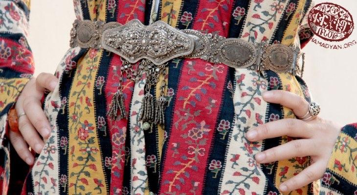 Wedding dress from Kharpert closeup