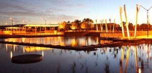 Champion Lakes at twilight