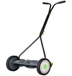 earthwise 16 inch bent reel mower [ 1000 x 1000 Pixel ]