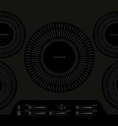 frigidaire gallery 36 black induction cooktop fgic3666tb kitchen appliances laundry oreck vacuums waterloo ia 50702 [ 1280 x 748 Pixel ]
