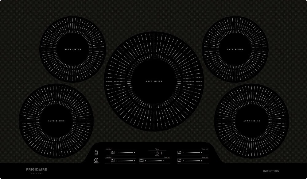 medium resolution of frigidaire gallery 36 black induction cooktop fgic3666tb kitchen appliances laundry oreck vacuums waterloo ia 50702
