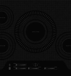 frigidaire gallery 30 75 black induction cooktop fgic3066tb kitchen appliances laundry oreck vacuums waterloo ia 50702 [ 2000 x 1397 Pixel ]