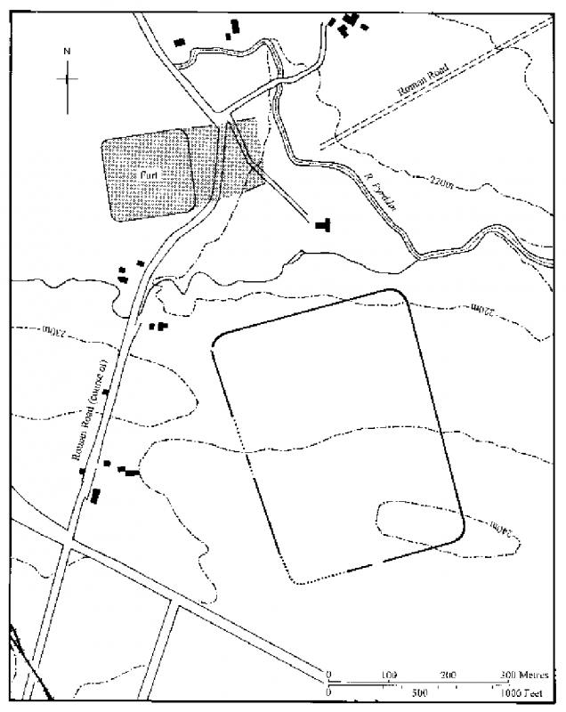 ROMAN MARCHING CAMP SOUTH EAST OF COELBREN FORT