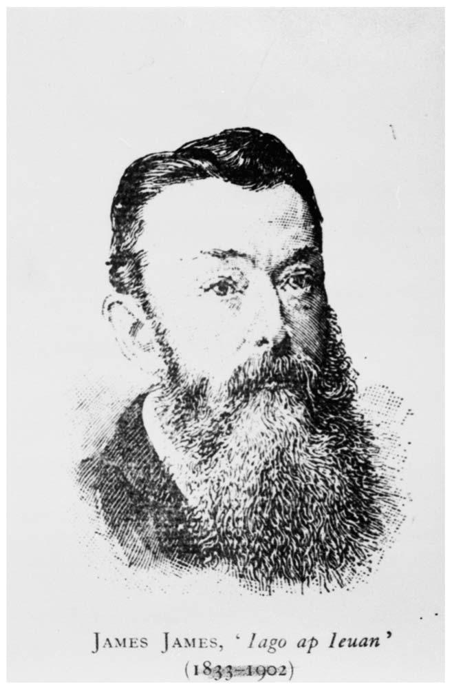 James James (1833-1902), composer of the Welsh national anthem