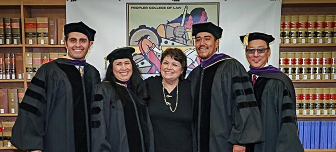 PCL Co-Founder Maria Vargas with graduating class