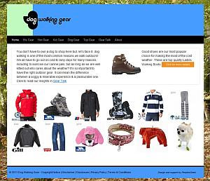 A great website for finding dog walking gear and general outdoor clothing