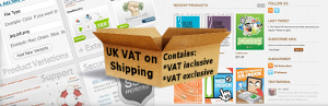 Calculate VAT on shipping